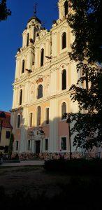 Church in Vilnius.