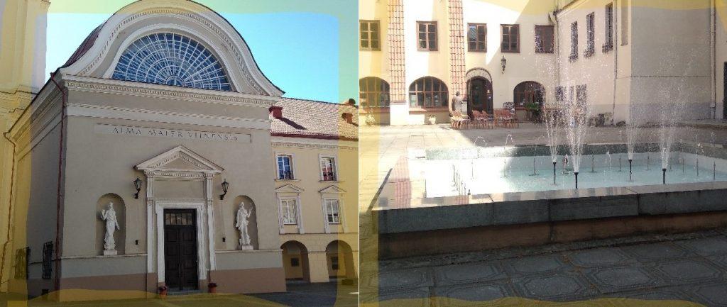 Vilnan yliopiston sisäpiha