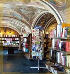 Vilnan yliopiston kirjakauppa.